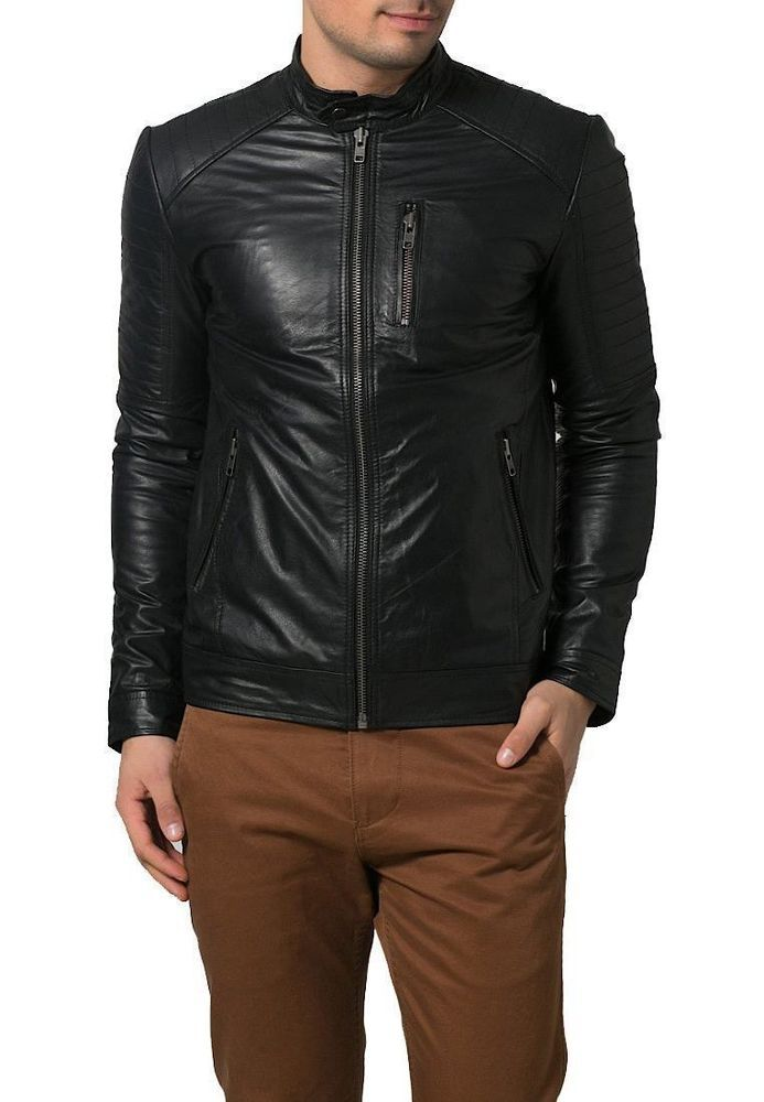 1501366 Black, Fencing Jacket Laverapelle Mens Genuine Lambskin Leather Jacket