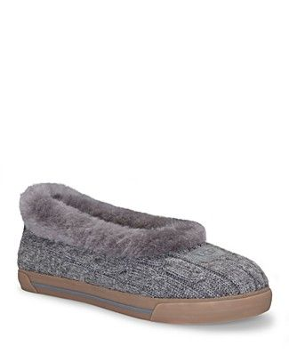 594acf784f8 Cable Knit Ugg slippers - so cozy! | shoes | Ugg slippers, Knit ...