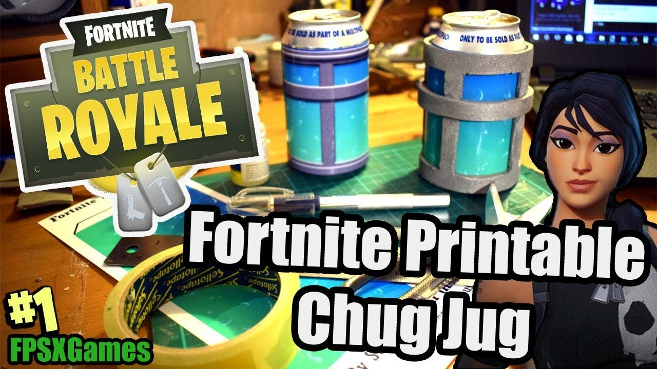 Printable Chug Jug - Forums | Fortnite