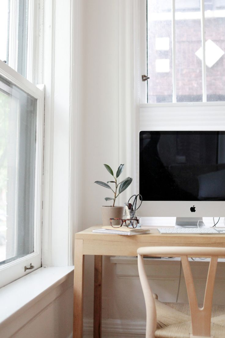 Clean and minimal workspace area. | Home Office | Pinterest ...