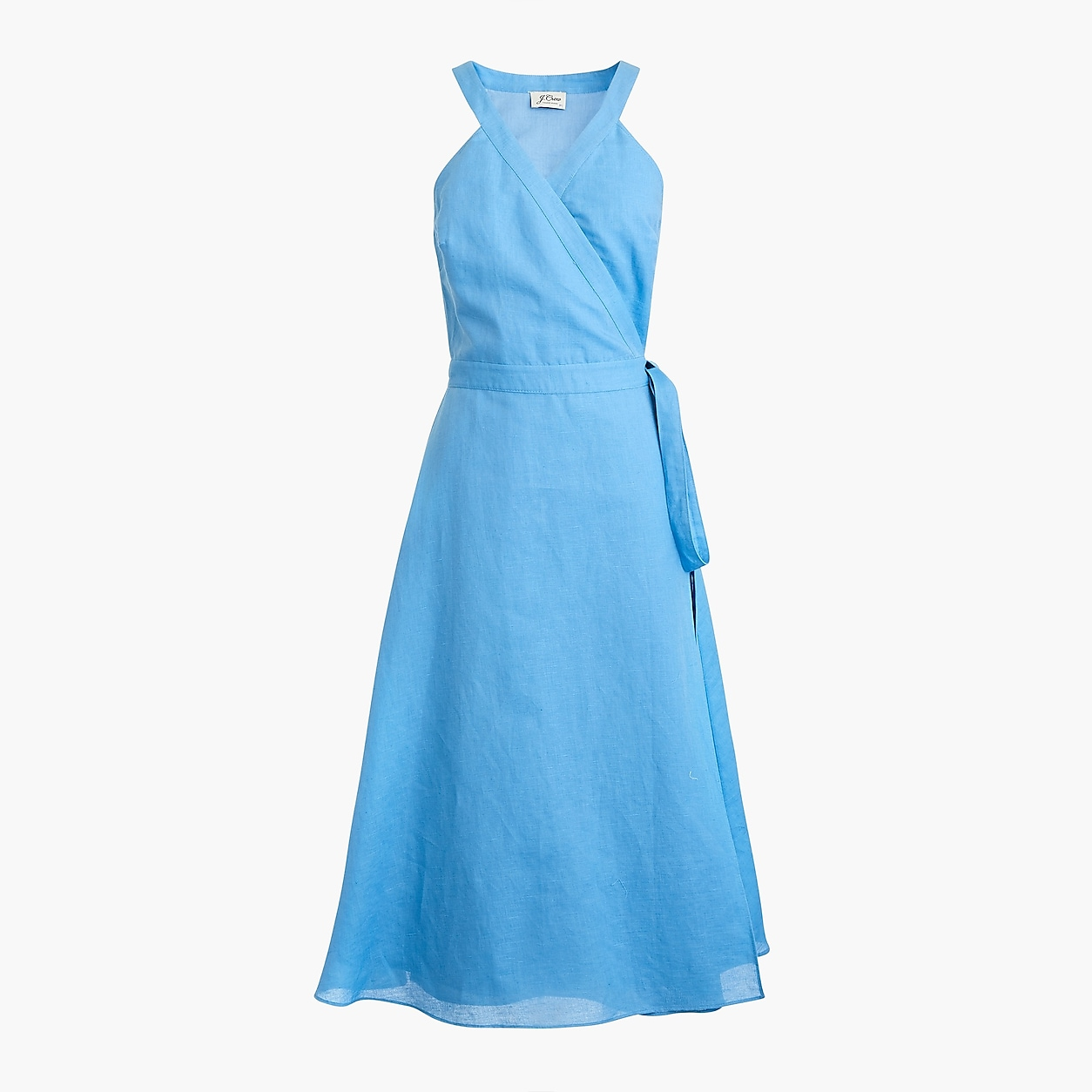 2d43b3d35f Linen Wrap Dress | Things to Wear | Dresses, Vacation dresses, Wrap ...
