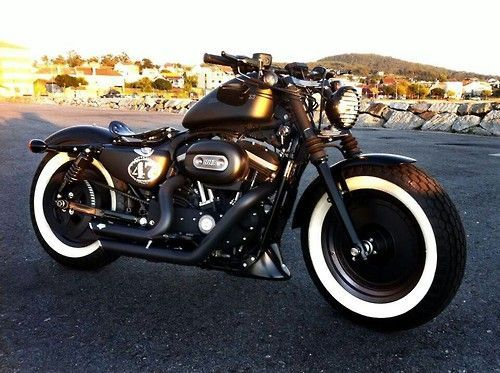 50 Cafe Racer Harley 48 Davison