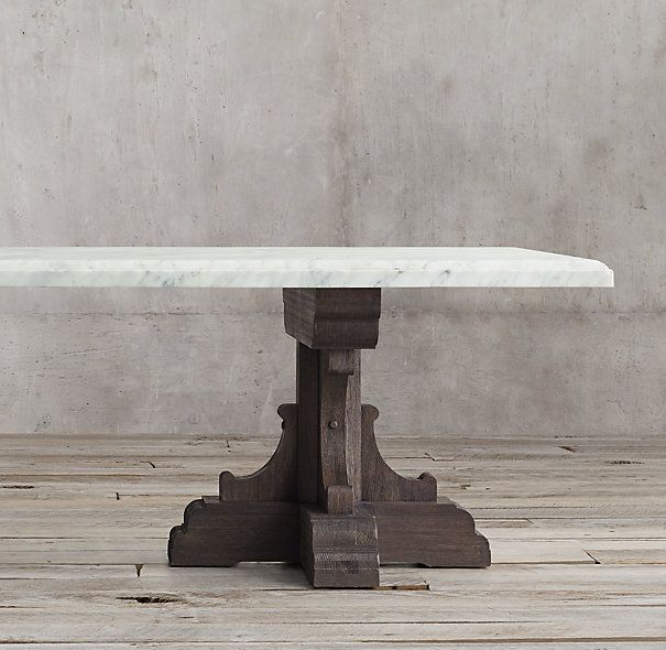 17th C French Bastide Oak Marble Rectangular Dining Table Restoration Hardware Dining Table Dining Table Restoration Hardware Dining Room