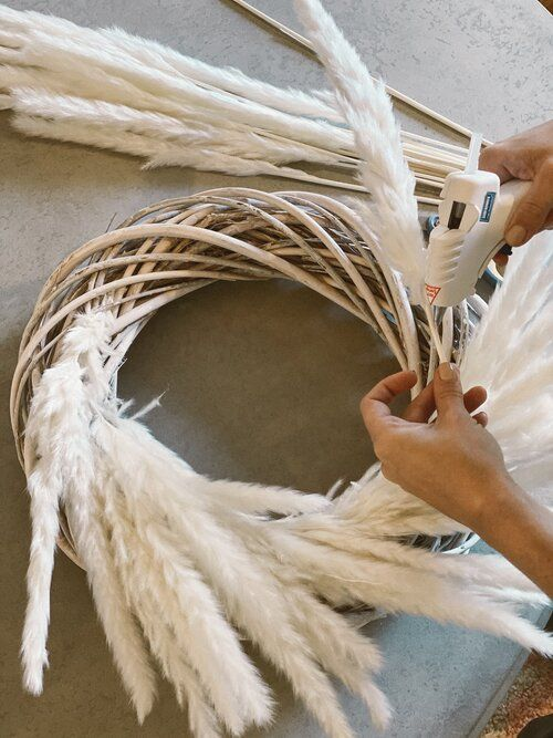 Photo of Holiday Prep: Pampas Grass Wreath Tutorial — House of Nomad