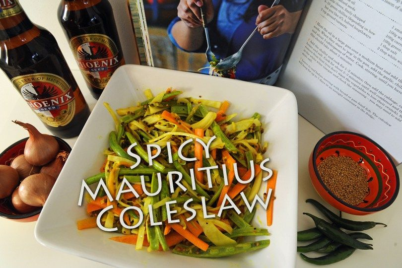 Spicy mauritian coleslaw recipe spicy coleslaw - Mauritian cuisine 100 easy recipes ...