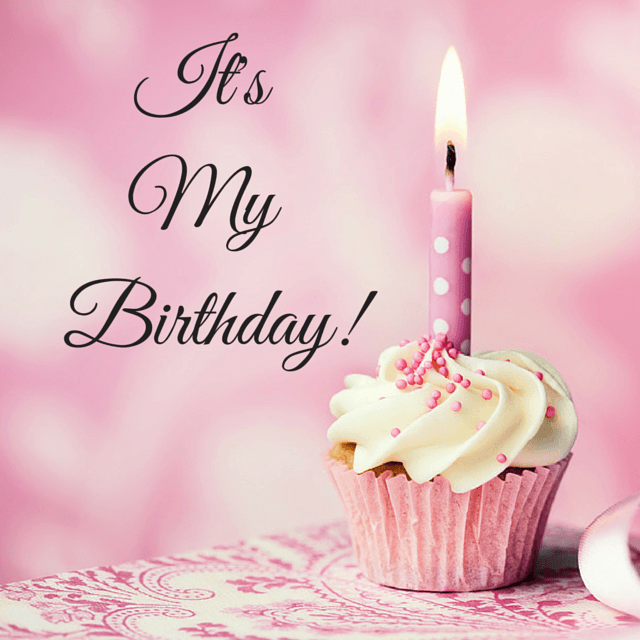 It's My Birthday! A Little Glitter My birthday images