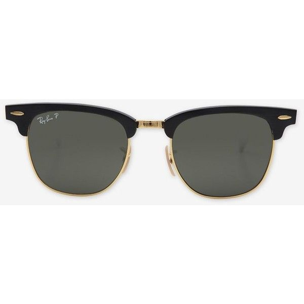 ray ban clubmaster sunglasses black 2435 mad liked on polyvore rh pinterest com