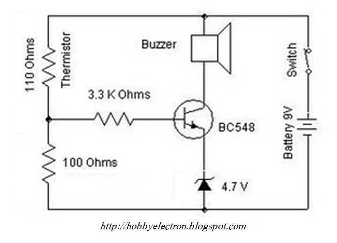 Temperature Sensing Circuit Using Thermistor Google Search