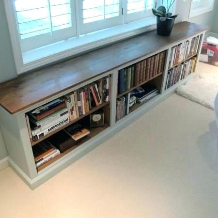 Low Long Bookcases Long Bookshelf Famous Furniture The White And Brown Long Low Bookshelf With The F Low Bookshelves Tiny House Big Living New Kitchen Cabinets
