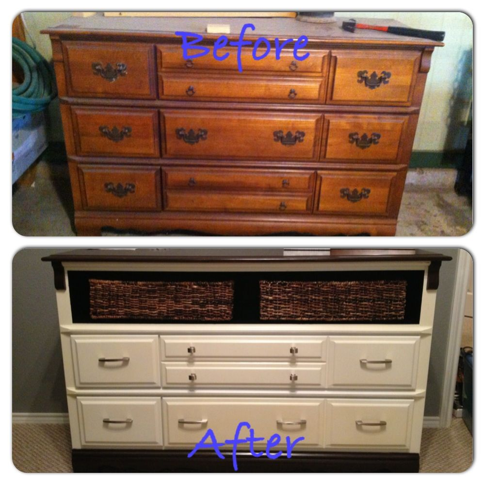 Refinished dresser | Painting furniture diy, Furniture ...