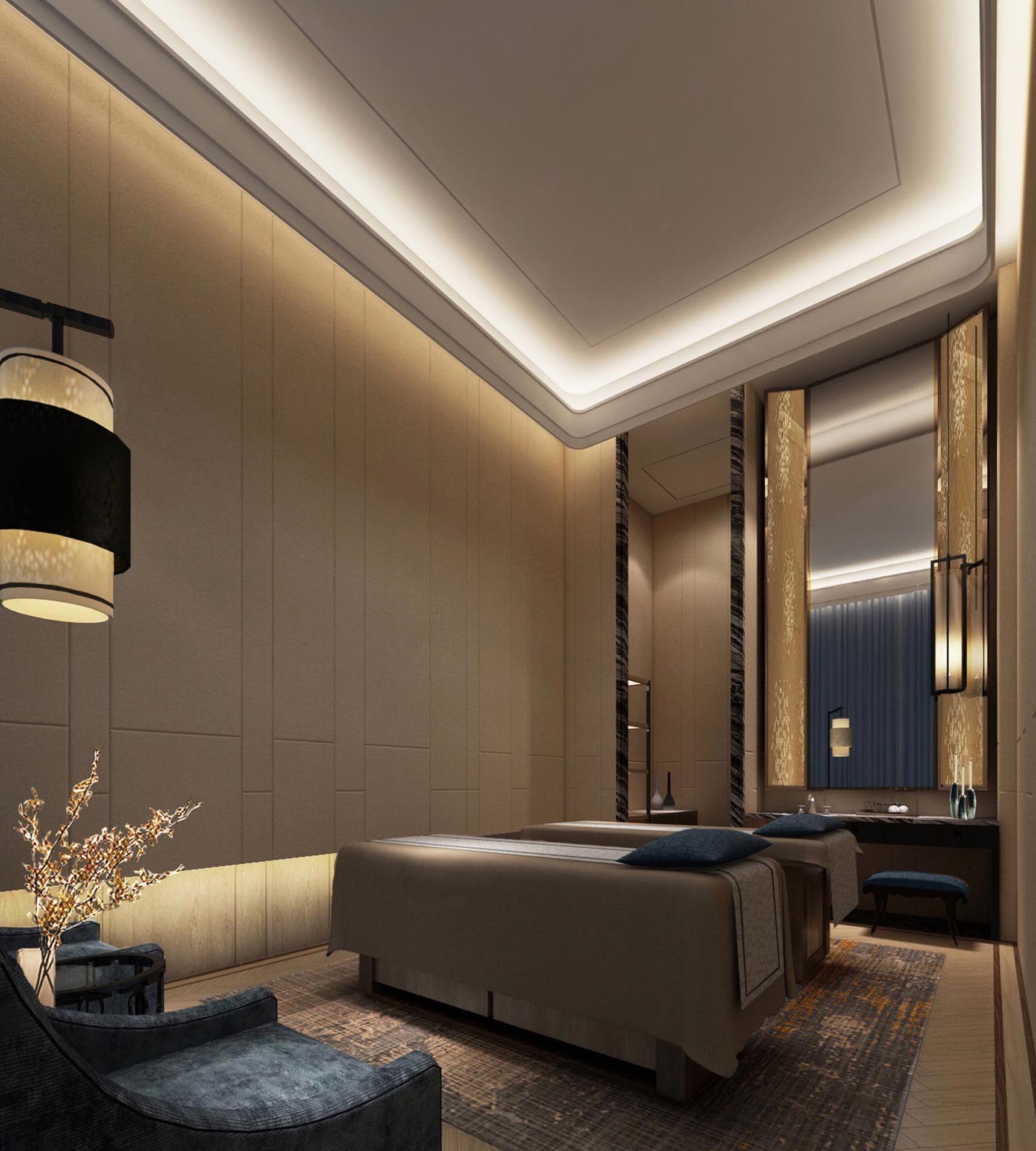 Thosarit Studio Spa Interior Spa Rooms Spa Treatment Room