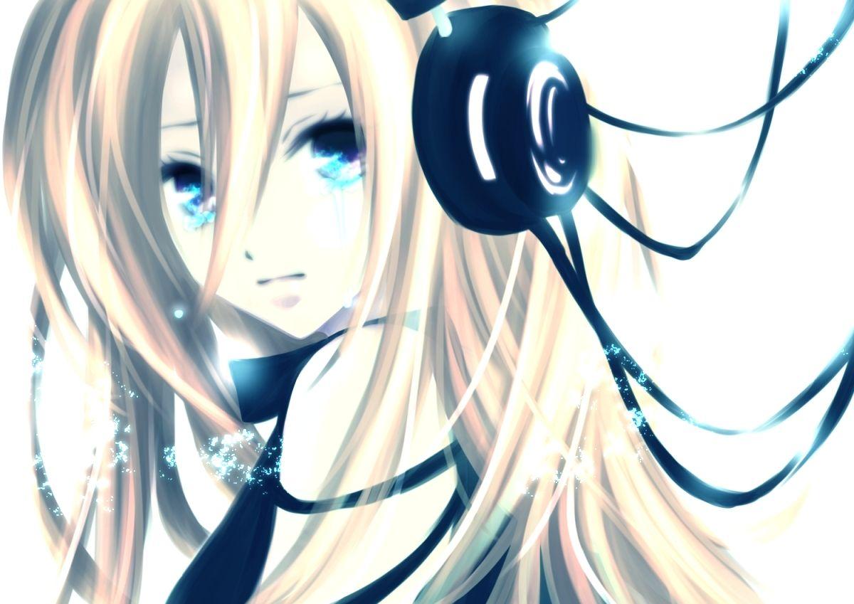Anime Girls With Headphones Wallpaper 1200x849 Anime