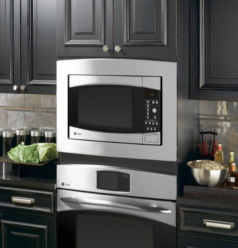 Ge Profile Jx1527smss 27 Trim Kit Stainless Steel By Ge 211 49 Allows Countertop Microwave Oven To Be Installe Microwave Wall Mount Built In Microwave Kitchen Remodel