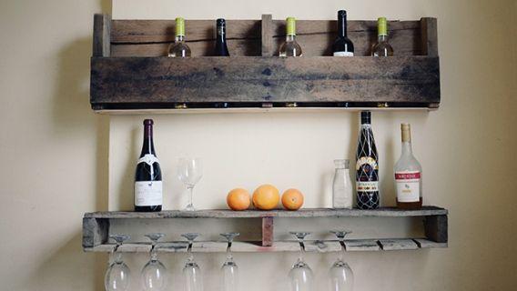 Se Créer Un Mini Bar En Bois De Palettes Decos Maison