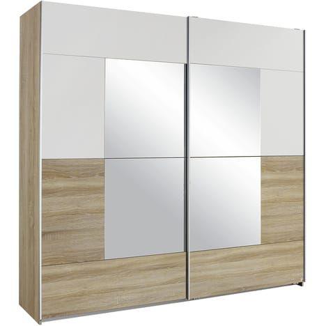 Armoire 2 portes coulissantes DIVA, L218xH210 cm Home Sweet Home - porte d armoire coulissante