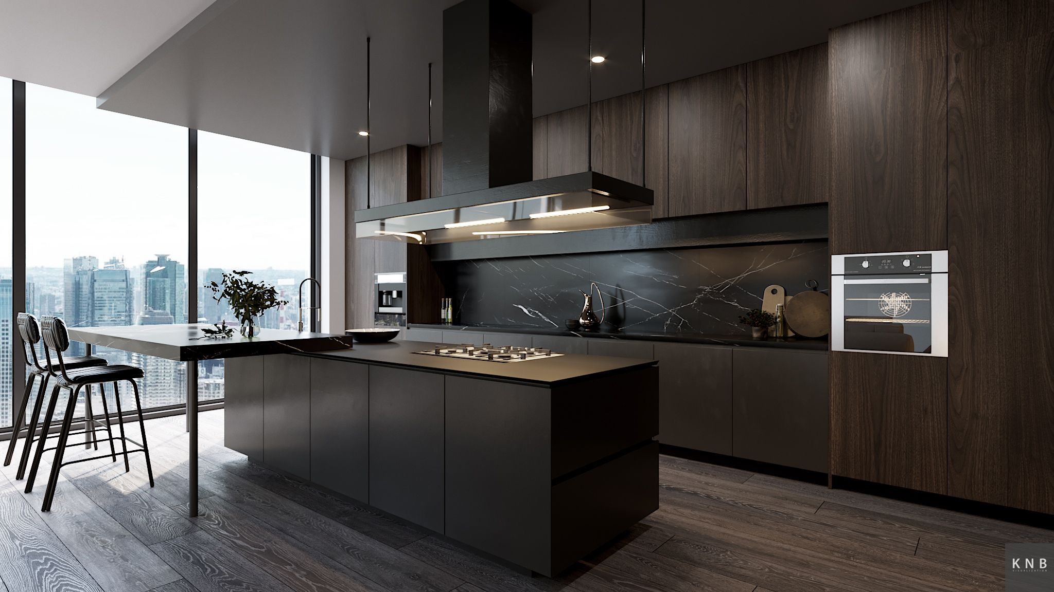 Kitchen Cupboard Uplighters Cgi Interior On Behance Kitchen In 2019 Kitchen Cabinets Home