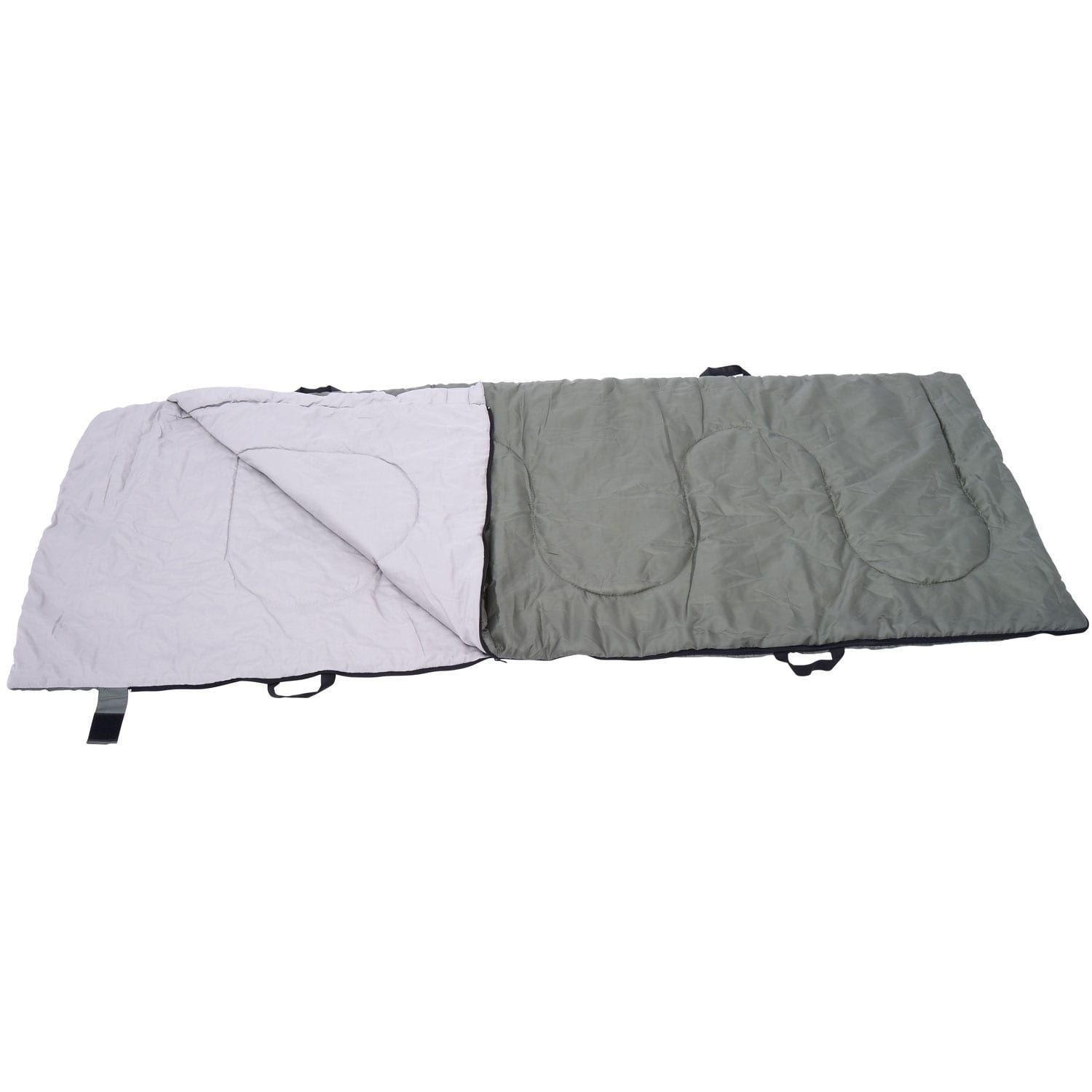 Outsunny Pop Up Tent Cot with Air Mattress and Sleeping Bag Combo ...
