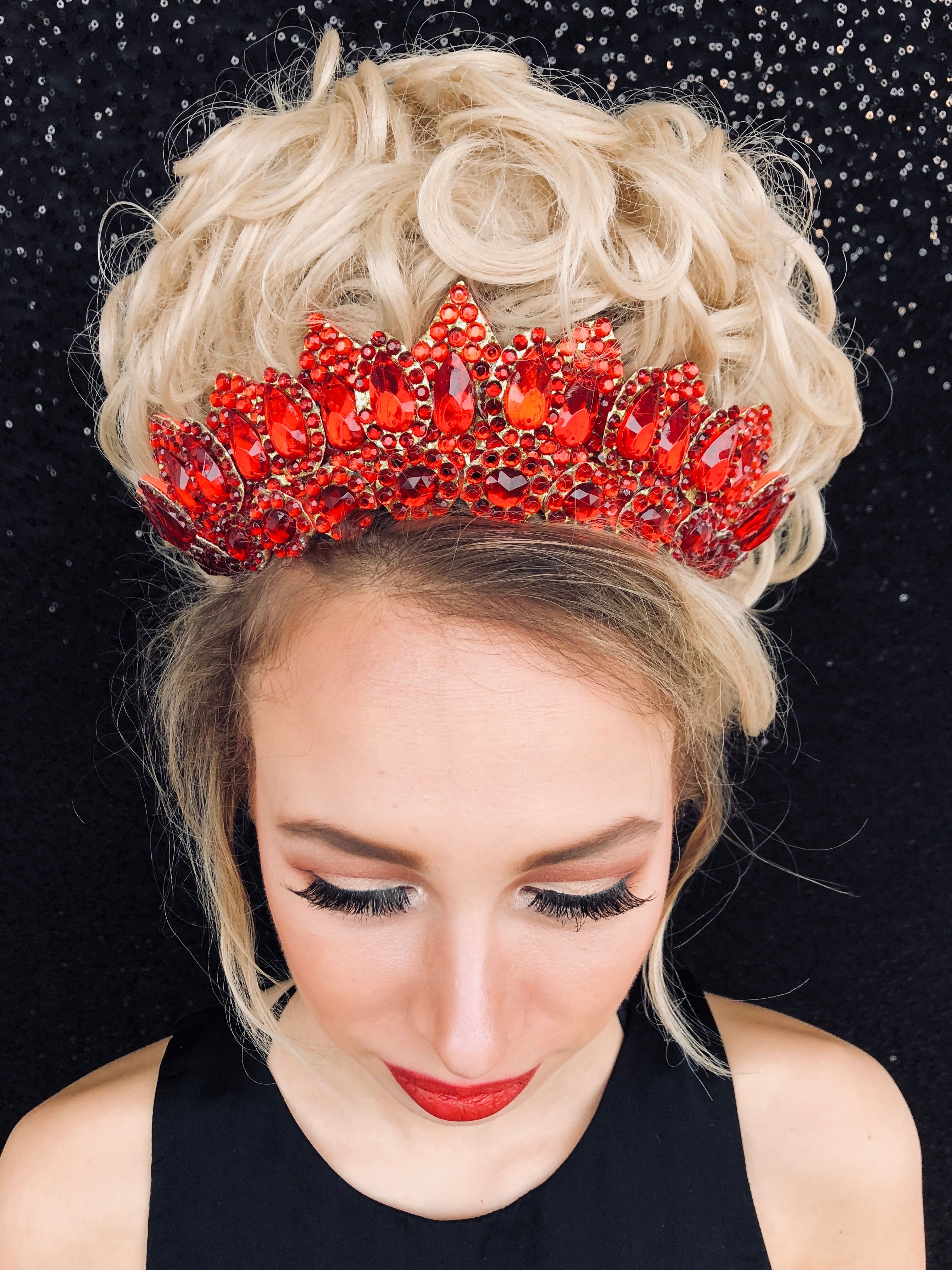Set Flexi Headband and Numberclip for Irish Dancing