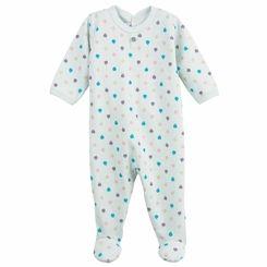 Petit Bateau Baby Boys 2 Pack Short Sleeve Bodysuits Navy Medieval Blue