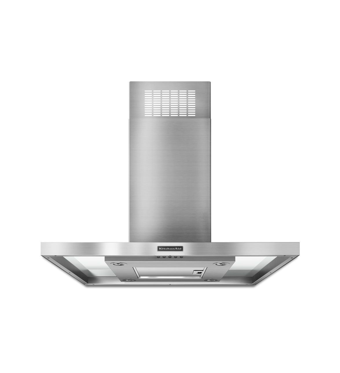 KitchenAid® 36'' Island-Mount 400 CFM Canopy Hood, Architect® Series II (KXI2536YSS ) |