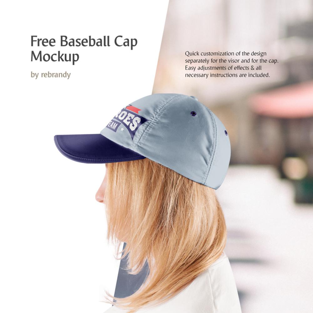 Download Freebie Baseball Cap Mockup Mockup Free Psd Mockup Psd Psd Mockup Template