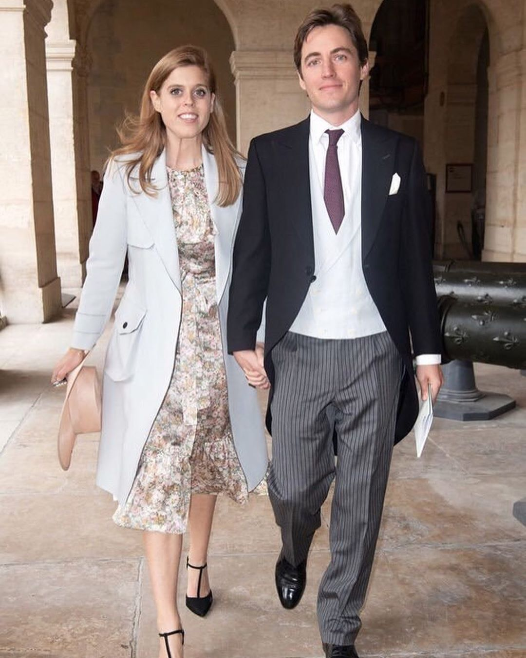 Windsor Royal Family On Instagram Princess Beatrice And Her Soon To Be Husband Edoardo Mapell Princess Beatrice Princess Beatrice Wedding Royal Wedding Gowns