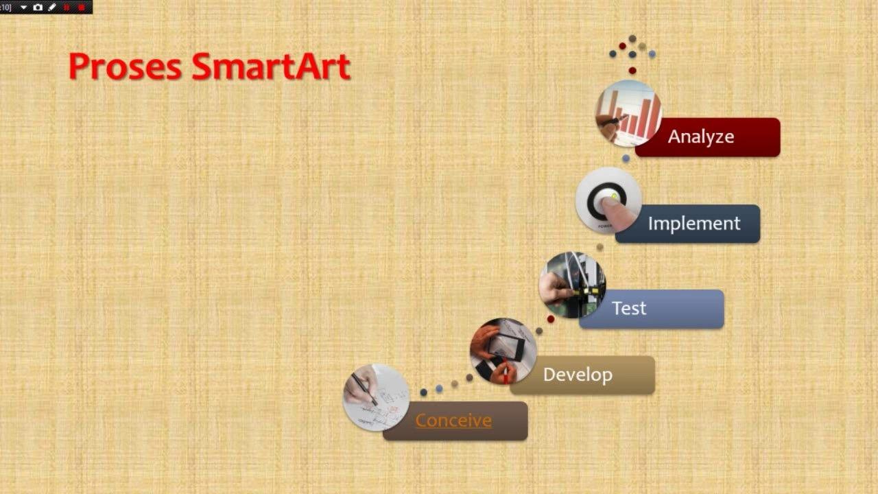 Cara Membuat Power Point Yang Menarik Proses Smartart Presentasi