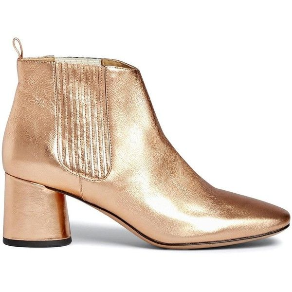 Marc Jacobs Metallic Square-Toe Booties low cost clearance nicekicks outlet get to buy sale cheap clearance best prices iCCgIjSpL8