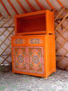 Voyage En Mongolie Avec Gandan Guesthouse Tours Fourniture Des Yourtes Mobilier De Salon Decoration Indienne Meubles Peints