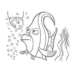 40 Finding Nemo Coloring Pages - Free Printables | Finding nemo ...