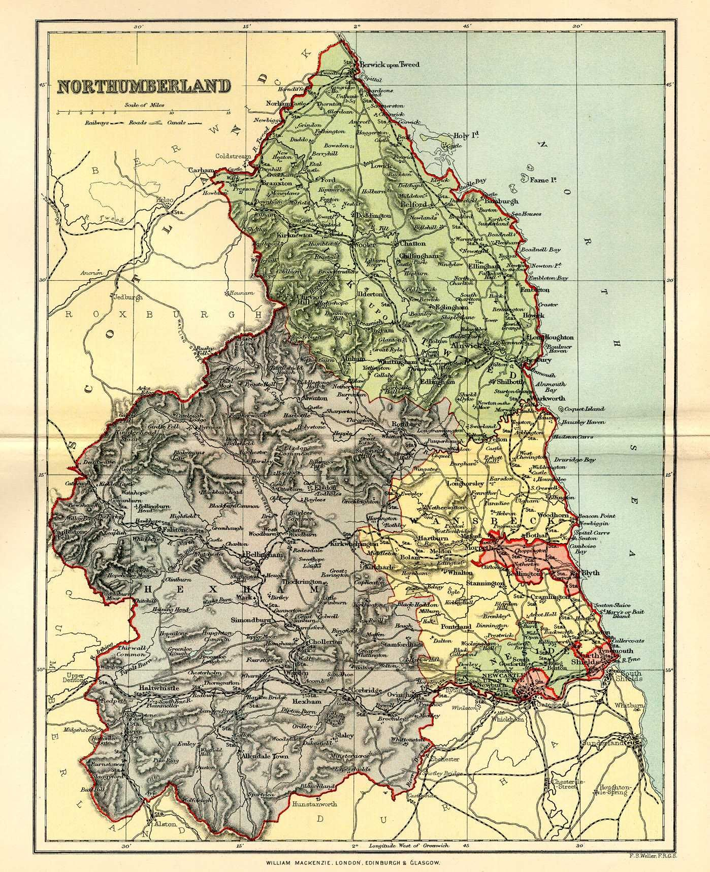 Map Of England Northumbria.Northumberland My Favourite Place Ever Maps England Map