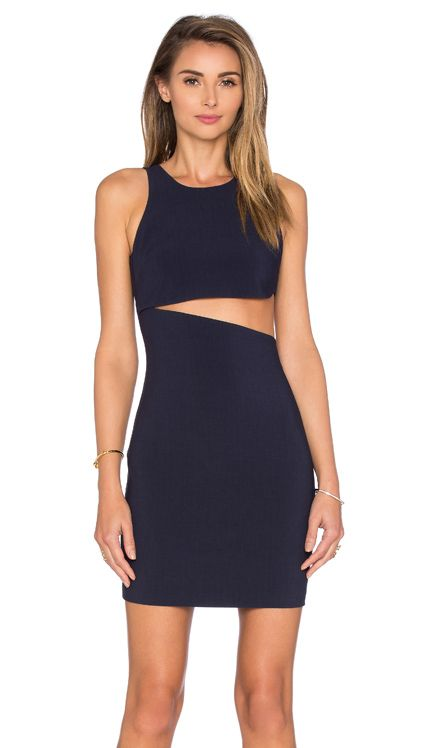 LIKELY Lincoln Dress in Navy | REVOLVE