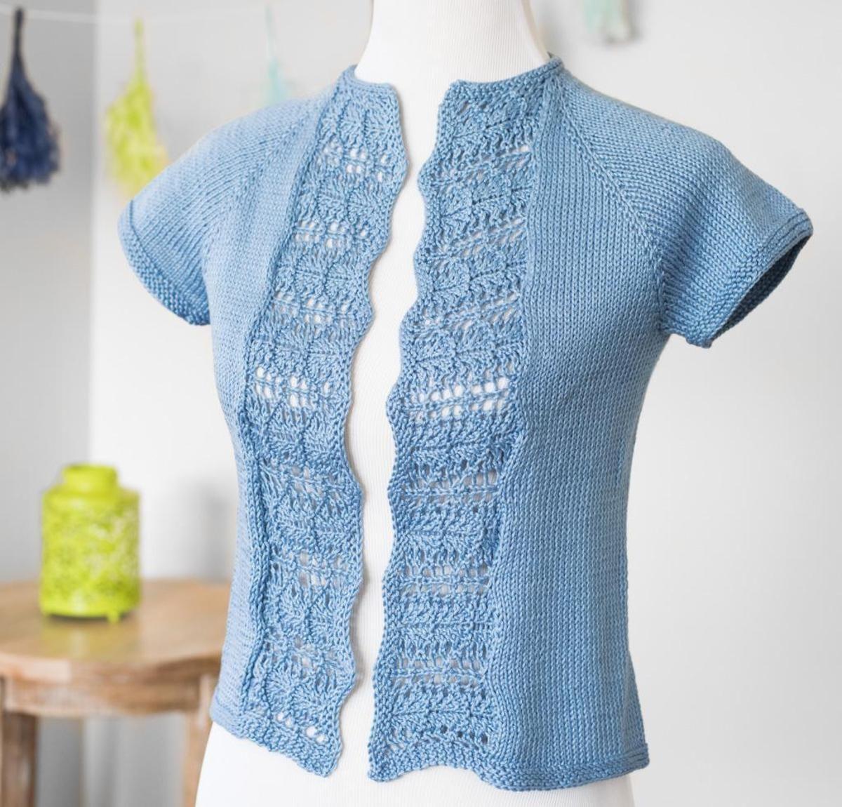 Summer Waves Cardigan Knitting Kit | Summer waves, Yarns and Crochet