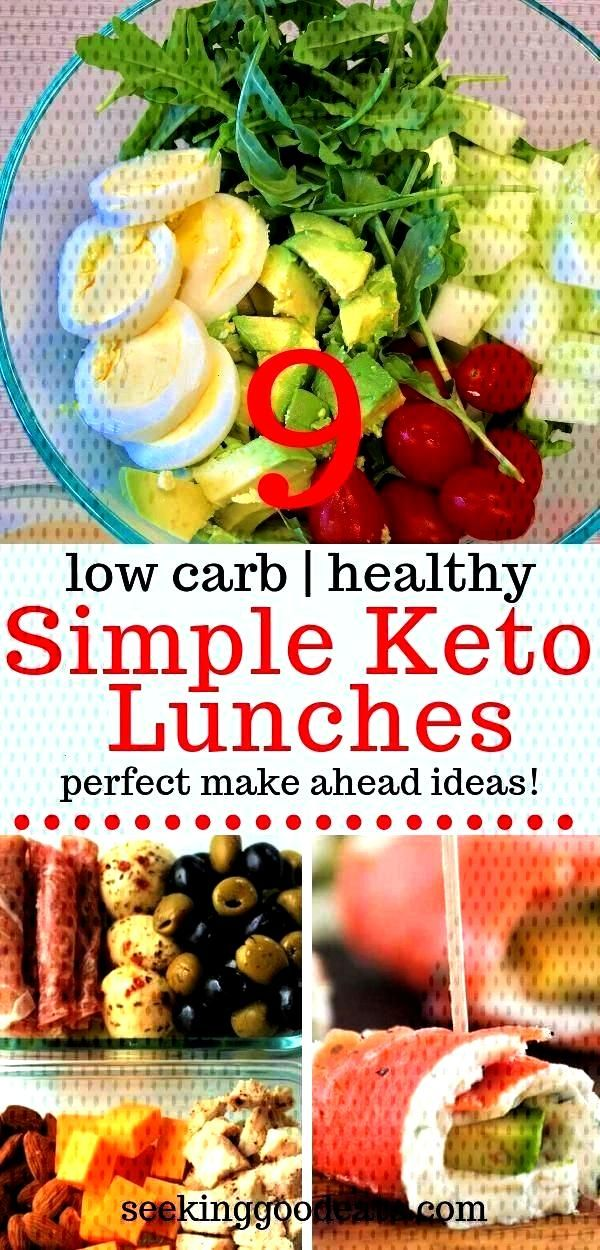 day ahead? Make sure you pack a low carb healthy lunch! Here are 6 quick and easy, make ahead, low