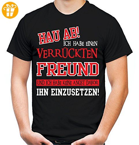 verr ckter freund t shirt geburtstag geschenk. Black Bedroom Furniture Sets. Home Design Ideas