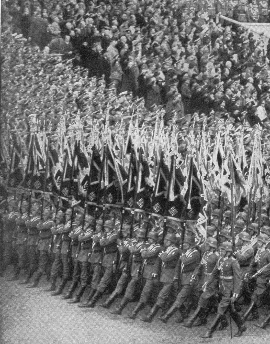 Wehrmachtparade Am 50 Geburtstag Des Fuhrers