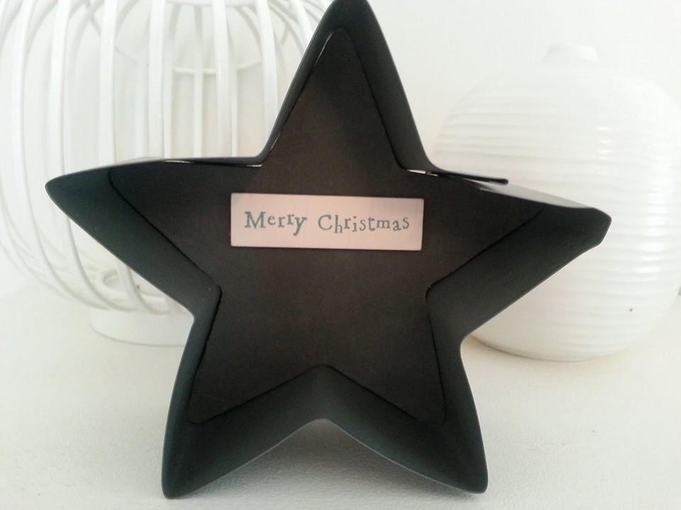 Metal star £4.50