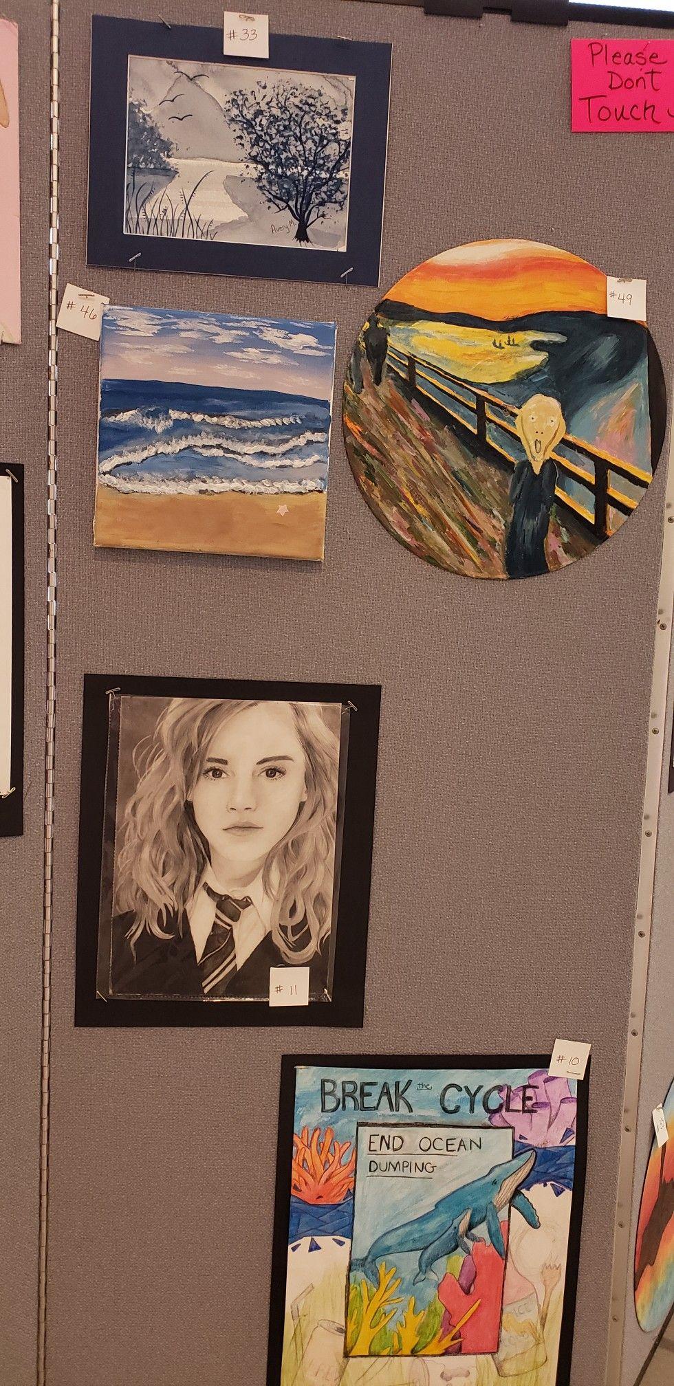 Lms art prize 2019 | Student Art LMS in 2019 | Art education