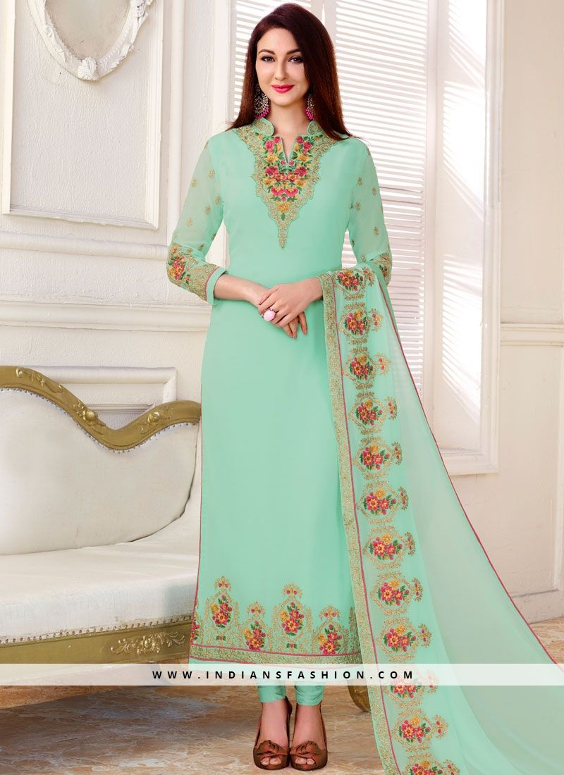 de57127b55 Wear those designer #salwar kameez this festive season. Grab heavenly  #designer straight suit for festival and party with free shipping.