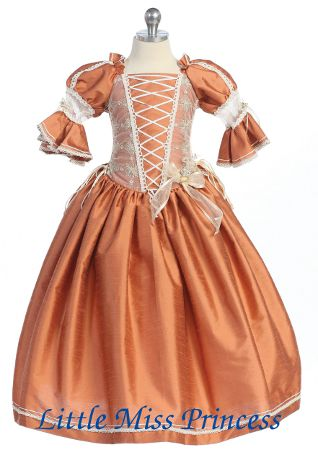 Edwardian Dresses for Little Girls | Evening Party Victorian ...