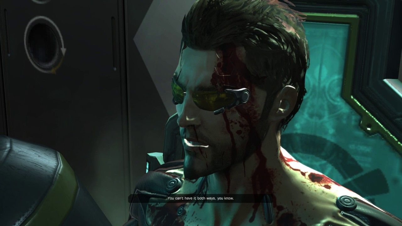 Situation Is Extremely F Cked Up Deus Ex Human Revolution