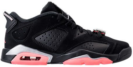 3549b816d4e5 Nike Girls  Grade School Air Jordan Retro 6 Low (3.5y-9.5y) Basketball Shoes