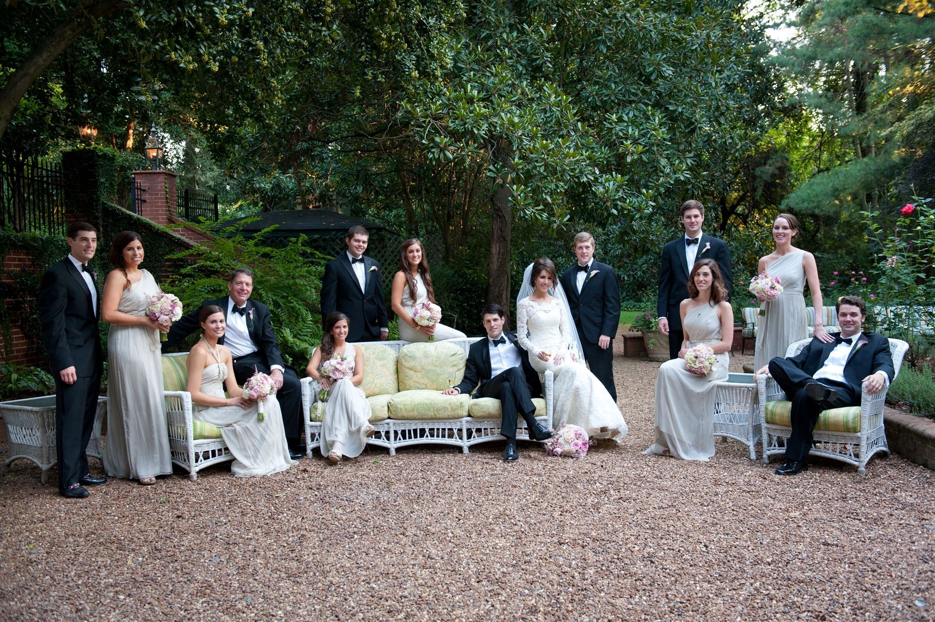 Duke Mansion Wedding Party