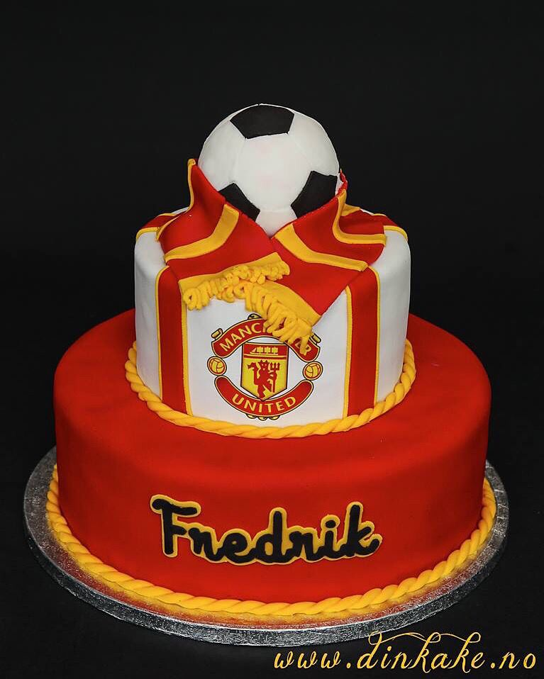 deco gateau manchester united