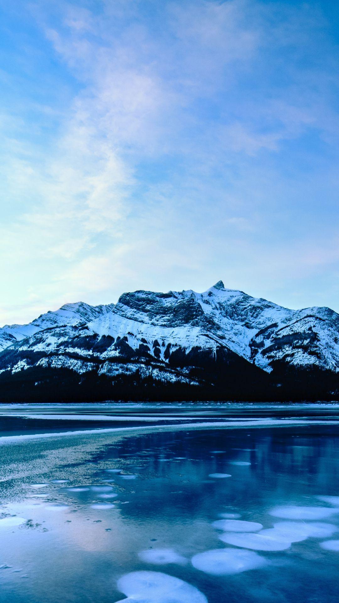 1080x1920 Blue Lake Mountains Wallpaper In 2020 Blue Lake Mountain Wallpaper Mountains