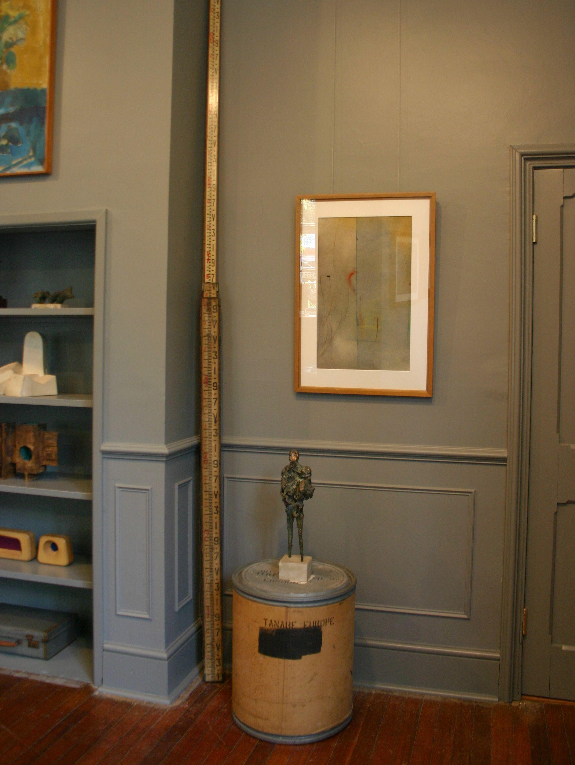 Andelli art gallery in wells somerset with ernst eisenmayer bronze