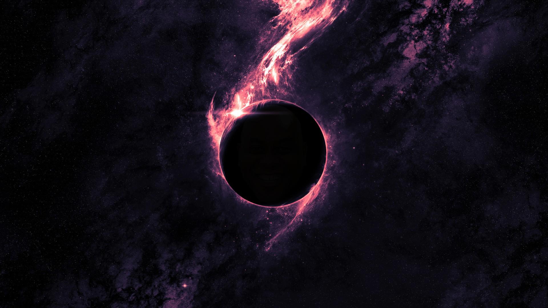 Void Wallpaper 1920x1080 Black Hole Wallpaper Dark Purple Wallpaper Black Hole