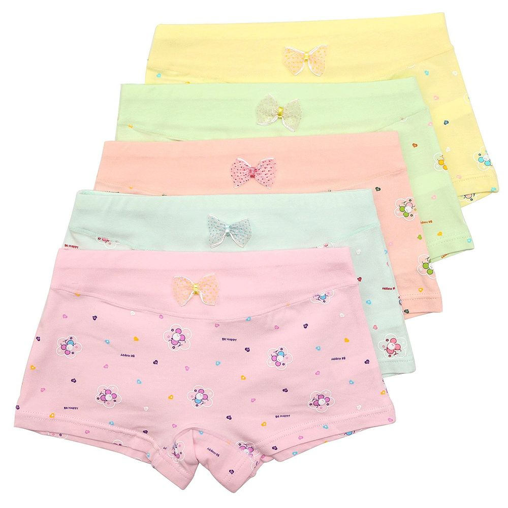Girls Panties Kids Underwear Hipster Size 12 Cotton 5-Pack