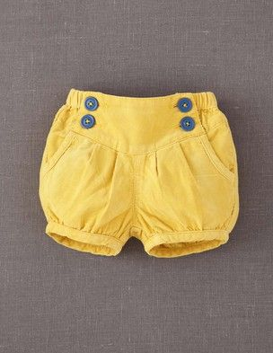 Baby Cord Bloomers
