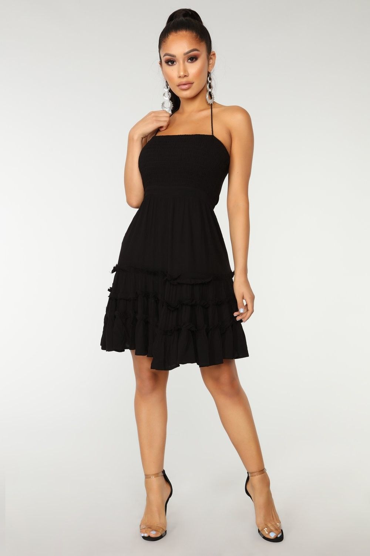 Black Dress Fashion Nova